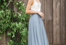 Bridesmaid Dresses / TTIN Wedding Bridesmaids Dresses - just Inspo / ideas for you ladies, in the shades of dusty blue from the email :) xx