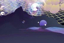 Portrait - Detrait - Abstrait. Curso de Un Año de Artes Digitales y Diseño de Experiencias 2015 / es un proyecto de virtualización de los espacios dentro del proceso de independencia y desarrollo del ser, desde la esfera inicial a la fría complejidad moderna. A través de la creación de estos pasajes virtuales se ofrece un recorrido expuesto en dos formas dependientes de la globalización: la experiencia íntima y la experiencia pública.