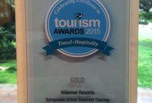 Sympossio's Awards / Sympossio Greek Gourmet Touring Awardwinning