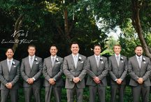 Boutonnieres / Classic, elegant, and modern... Grooms and their Groomsmen can walk down the aisle in style with Nisie's Enchanted Florist