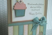 Cupcake Punch / Cards and ideas using SU Cupcake Punch