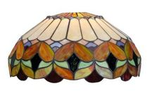 Stained glass Lighting / Beautiful interior and exterior Tiffany style stained glass lamps and light fixtures
