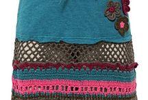 ideas en crochet / esquemas para aprender