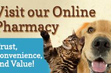 Online Pharmacy - Vets First Choice / Save time and money by ordering your pet's food and medication through our online pharmacy, powered by Vets First Choice.