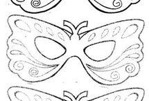 Carnavalmaskers