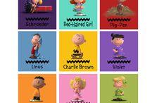 Snoopy & Charlie Brow