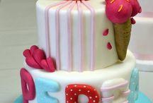 Peppa τούρτα γενεθλίων!!!!