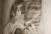 Drawings and Paintings of Jesse Ilmari Eronen