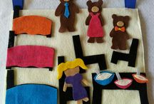 Felt Boards & Storytelling / Ideas for using felt and flannel boards for storytelling, busy bags and play.