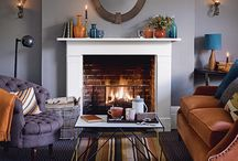 Cosy Winter Spaces / Cosy places and spaces to escape from the dark cold winter nights #interiors