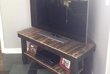 wooden pallet tv standmonique