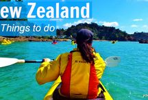 New Zealand / Planning for next year's holiday