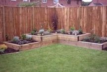 garden beds --RAISED!!!!!!