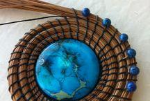 pine pin basket