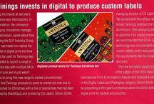 Tea labels / Digital tea labels from CS