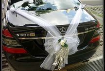 Wedding.   cars