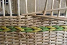 Плетенные корзинки ,шкатулки и коробки