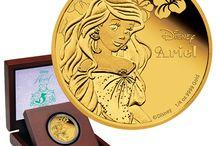 Disney Coins / Disney Münzen / Disney coins and coin sets.