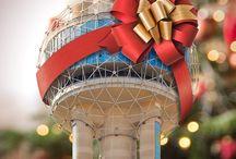 Santa at the Tower