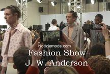 J. W. Anderson uomo / J. W. Anderson collezione e catalogo primavera estate e autunno inverno abiti abbigliamento accessori scarpe borse sfilata uomo.