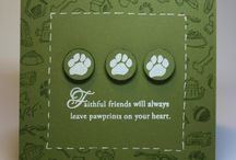 pet sympathy card / by christelle lindewall
