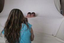 Newborns - poses & pullbacks