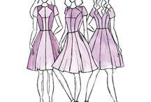 Diverse kjolemodeller