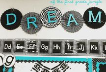 Classroom Decor and Bulletin Boards / Tips and ideas for decorating elementary classrooms