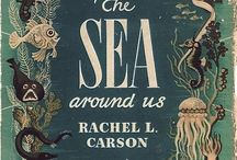 "The Sea Around Us / Rachel Carson's book ""The Sea Around Us"" fired my imagination when I was young. Loved her descriptions of the deepest places on earth."