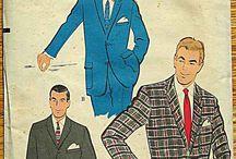Муж костюм 1950