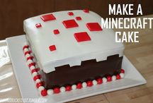 manu,s minecraft cake