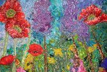 Impressionistic Style Art Quilting