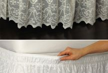 Ruffle bedding/valances