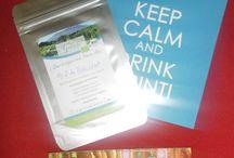 Té de Grinti / Imágenes de los tés de Grinti... no solo en su embalaje, sino también en la vida real.
