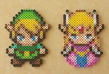 z - pixel art - Zelda