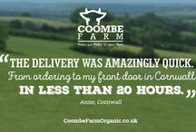 Reviews! / Customer Reviews of Coombe Farm Organic Service and Products.