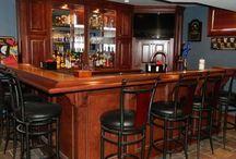 Basement bar / by Nicole Wotton
