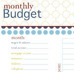 budget / by Stacey Phelps
