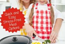 Crockpot Recipes / Slow Cooking Recipes for Busy Moms! Quick & Easy, Stress-Free Meal Options