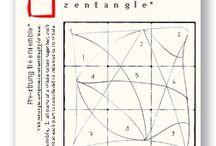 ART...Zentangle strings