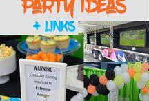 Boys Party Themes & Ideas / Boys Birthday Party Theme Ideas for supplies, decorations, and DIYs!