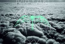 My work design / I play in my music band MAYAKI, and I make pictures for our singles and albums, you can look at my work