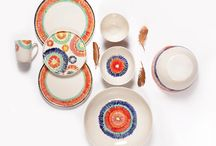 Dinnersets / Amaze your guests with stylish dinnersets! Made from porcelain and stoneware.