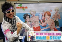 Wrap Hetalia Around Your World / We want you to Wrap Hetalia Around Your World! Or, at least around your head. Post a Hetalia bandana related picture to Pinterest or Tumblr and you could win a prize! You can upload real life pics of you wearing these bandanas, fan art with drawn bandanas on them, or whatever else you can get creative with.  Full details for contest here:  http://bit.ly/HetaliaBandanaContest / by FUNimation