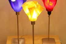 Fused glass  lighting