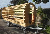Gipsy bowtop-wagon