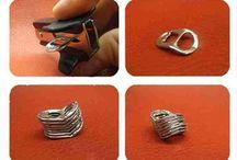 manualitats - anelles de llaunes