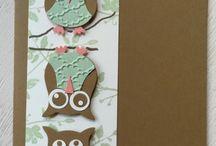 owl themed cards
