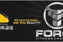 FORGE FITNESS & WELLNESS .RE - BRANDING ,! / Reason For GOAL.....
