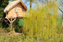 Hébergements insolites en sud Mayenne / Découvrez, en sud Mayenne, des hébergements qui sortent de l'ordinaire.